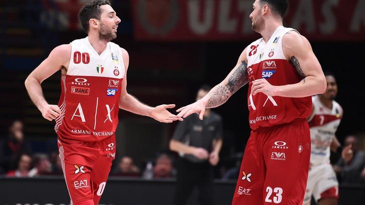 Basket, Coppa Italia: Milano domina le quote