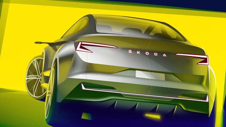 Ginevra: Skoda Vision iV Concept, crossover elettrico e coupé