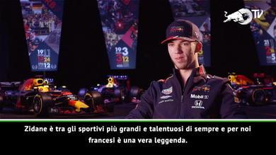 """Formula 1, Gasly: """"Ho scelto il 10 per Zidane"""""""