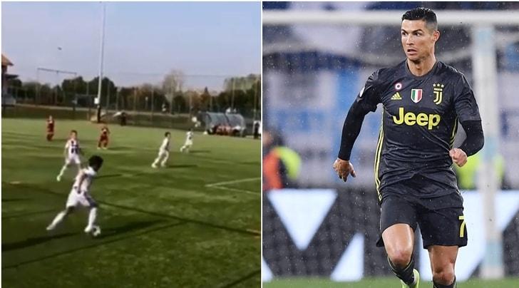 Super Cristianinho con l'U9: la sorella di Ronaldo esalta il nipote