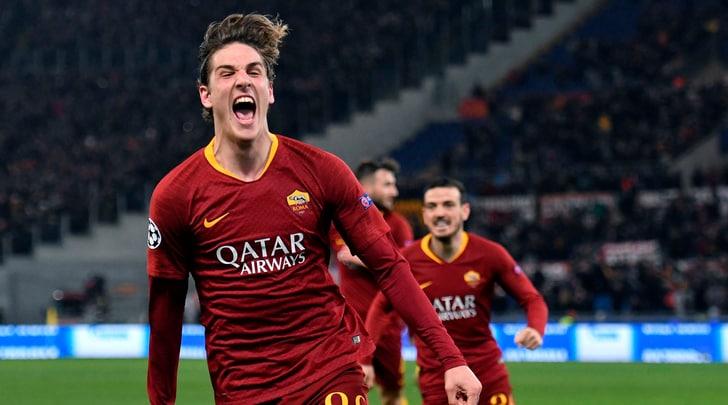Champions League, Roma-Porto 2-1: doppietta di Zaniolo e gol di Adrian Lopez
