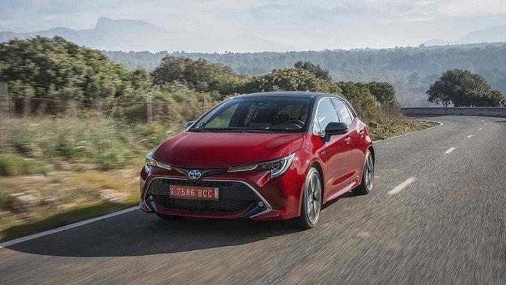 Toyota Corolla Hybrid, il test