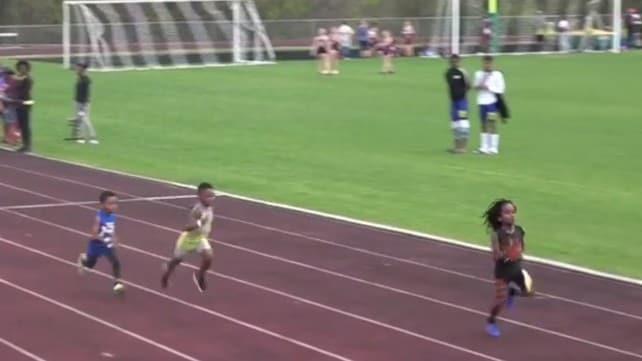 Bolt ha l'erede, è Rudolf Ingram: a 7 anni fa i 100 metri in 13''48