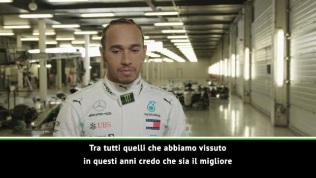 """Hamilton: """"Felice come la mia prima volta..."""""""