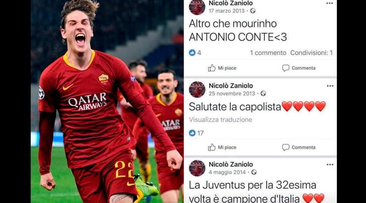 Zaniolo è già della Juventus: guardate che scriveva sui social