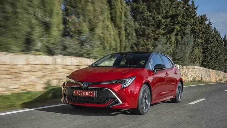 Toyota Corolla Hybrid 2019, la prova su strada