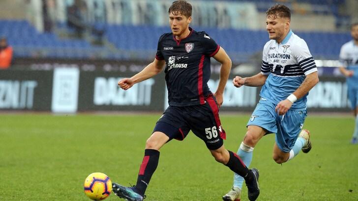 Serie A Cagliari, per Romagna infiammazione al tendine rotuleo