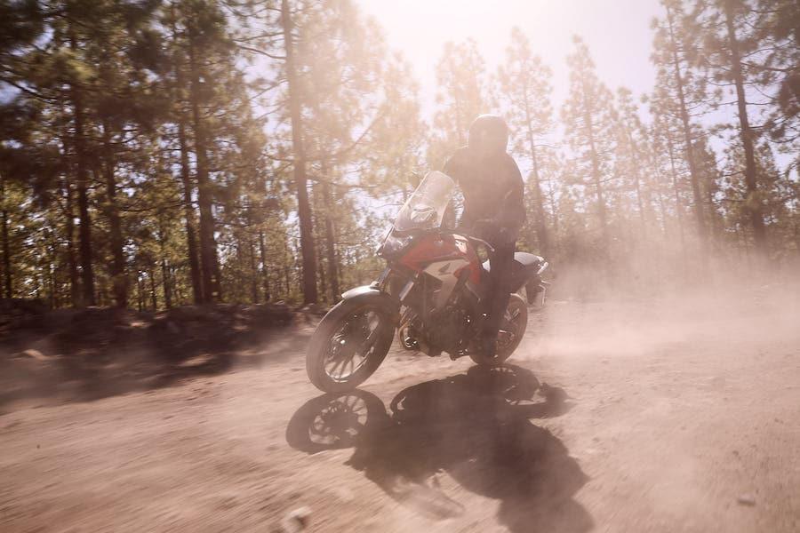 Honda CB500X 2019, la prova su strada