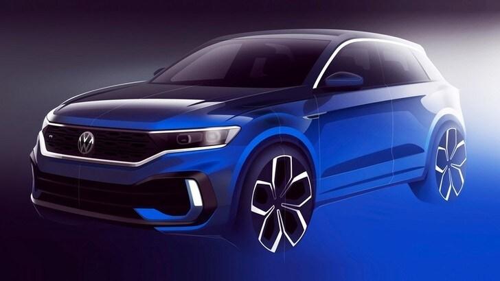 Volkswagen T-Roc R, c'è il teaser ufficiale