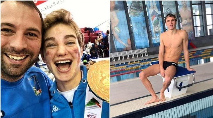 Manuel Bortuzzo, Bebe Vio gli dedica l'oro:«Riprendi a nuotare»