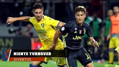 Juventus, Frosinone con vista sull'Atletico