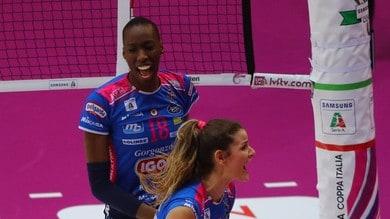Volley: A1 Femminile, Novara e Conegliano domani in campo prima della Champions