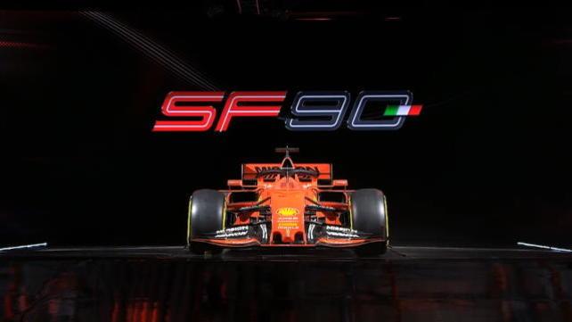 Ferrari, ecco la SF90