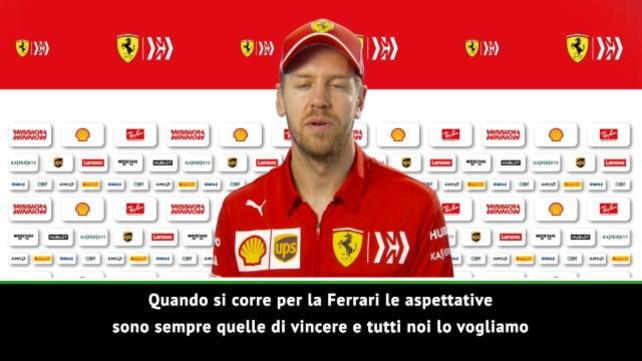 """Vettel: """"Con Leclerc andrà tutto bene"""""""