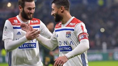 Ligue 1, Lione a fatica sul Guingamp. La prodezza di Savanier esalta il Nimes