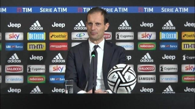 """Allegri: """"Il capitano? Dopo l'uscita di Chiellini il vice era Mandzukic"""""""