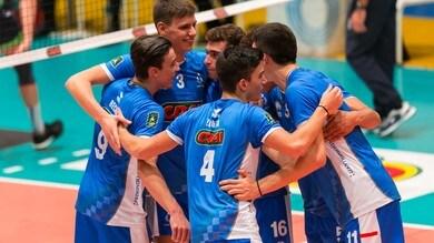 Volley: A2 Maschile, Girone Blu, Recine-Motzo show, il Club Italia vola