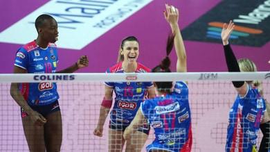 Volley: A1 Femminile, Novara, non lascia niente, battuta Firenze 3-0