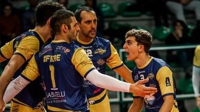 Volley: A2 Maschile, Girone Blu, Castellana Grotte passa sul campo di Cuneo