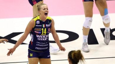 Volley: A1 Femminile, per Conegliano tre punti sudati