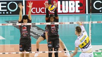 Volley: Superlega, super Civitanova, Modena crolla