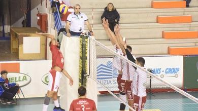 Volley: A2 Maschile, Girone Blu, facile per Piacenza, salgono Cantù  e Gioia del Colle
