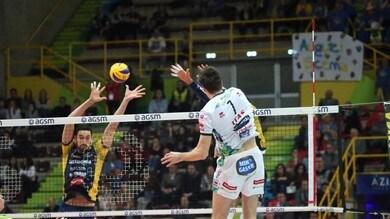 Volley: Superlega, Trento si infrange sul muro di Verona