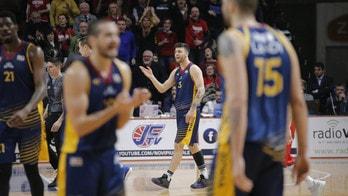 Basket, A2,: Virtus Roma cade in casa, vince Capo d'Orlando