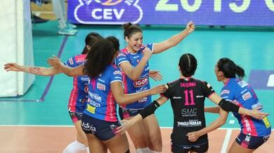 Volley: Champions Femminile, Novara ai Quarti, espugnata Lodz