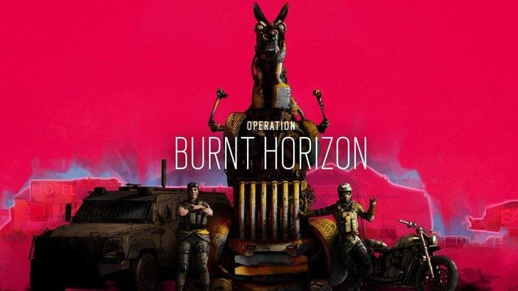 Rainbow Six Siege: svelati tutti i dettagli di Operazione Burnt Horizon