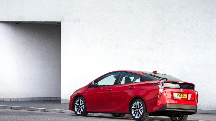 Toyota Prius, l'auto ibrida usata più venduta