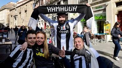 Atletico-Juventus, a Madrid sale la febbre