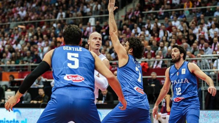 Basket, Italia-Ungheria: gli azzurri al Mondiale se...