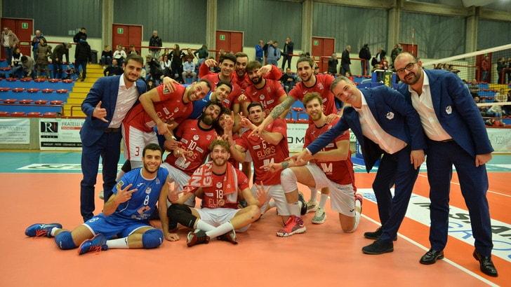 Volley: A2 Maschile, Girone Blu, Catania interrompe la serie no a Cisano
