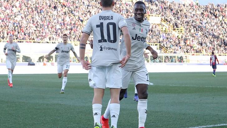 Serie A Bologna-Juventus 0-1, il tabellino