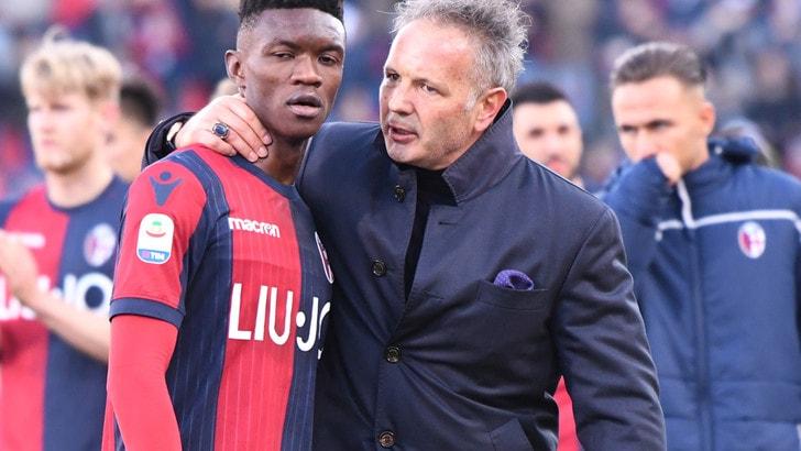 Serie A Bologna, Mihajlovic: «Abbiamo giocato alla pari con la Juve»
