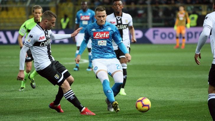 Serie A Parma-Napoli 0-4, il tabellino