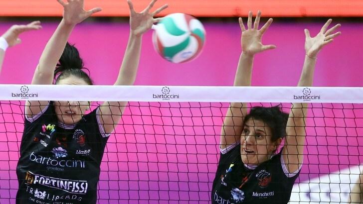 Volley: A2 Femminile, Perugia vola, vinto il big match con Soverato