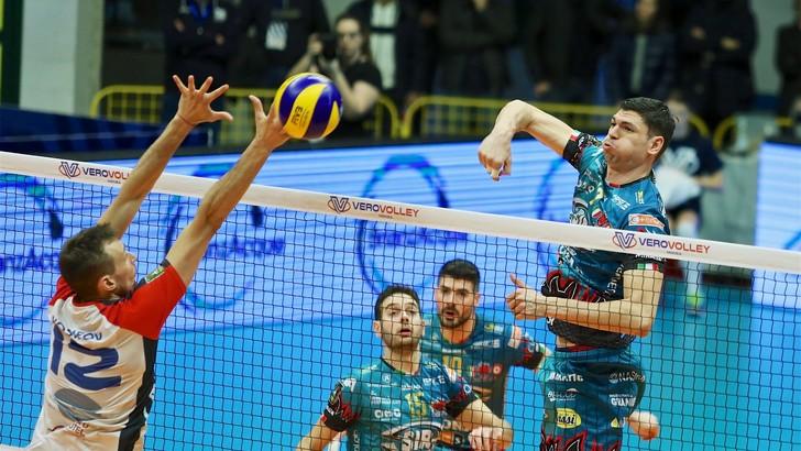 Volley: Superlega, Perugia sempre leader, vincono Civitanova, Modena e Milano