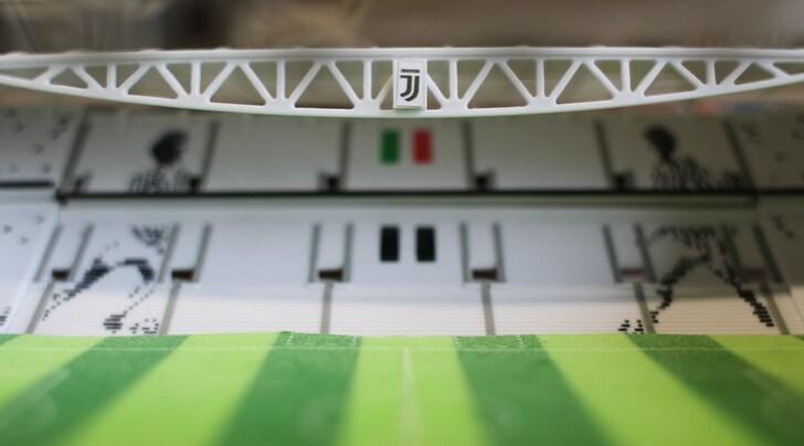 Passione Juventus, costruisci il build-up dell'Allianz Stadium