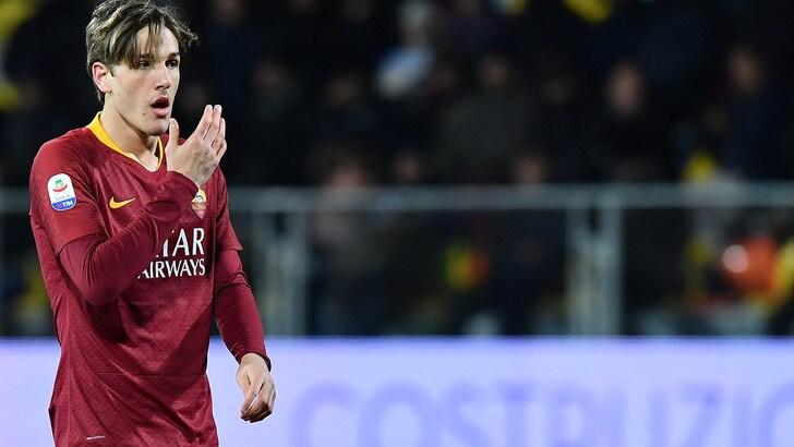 Juve, l'annuncio del padre di Zaniolo: «Rinnova con la Roma a fine stagione»