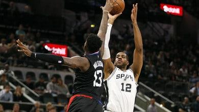 NBA, Spurs nove di fila: ko anche Golden State. Denver in testa a Ovest