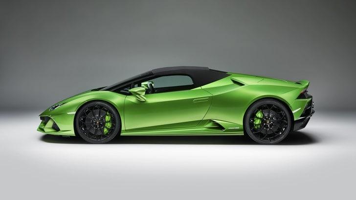 A Ginevra debutta la Lamborghini Huracan Evo Spyder