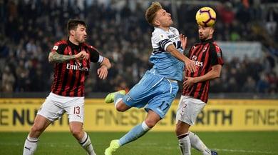 Coppa Italia, Lazio-Milan 0-0: Immobile spreca
