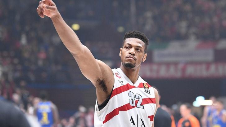 Basket, Eurolega: l'Olimpia Milano la dura e la vince, battuto il Khimki