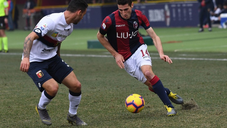 Serie A Bologna, ritorno in gruppo per Mattiello