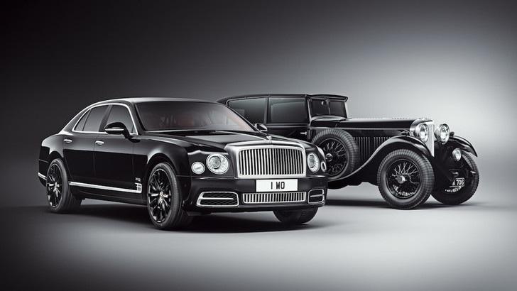 Bentley, a Ginevra festa per i 100 anni con Mulsanne O.W.