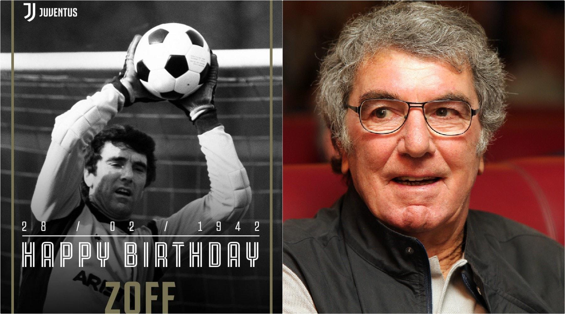 La leggenda Dino Zoff spegne 77 candeline: gli auguri del mondo del calcio