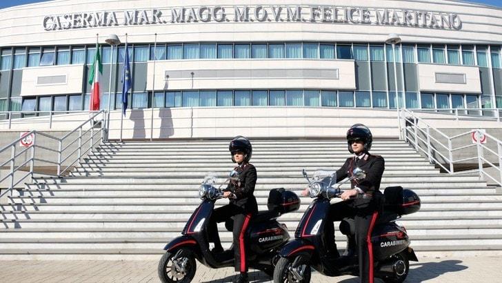 Vespa e Carabinieri: una partnership tra due simboli del Paese