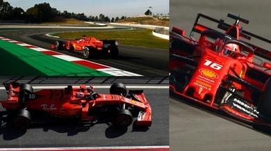F1, test Barcellona: Ferrari show, Leclerc vola al Montmelò!